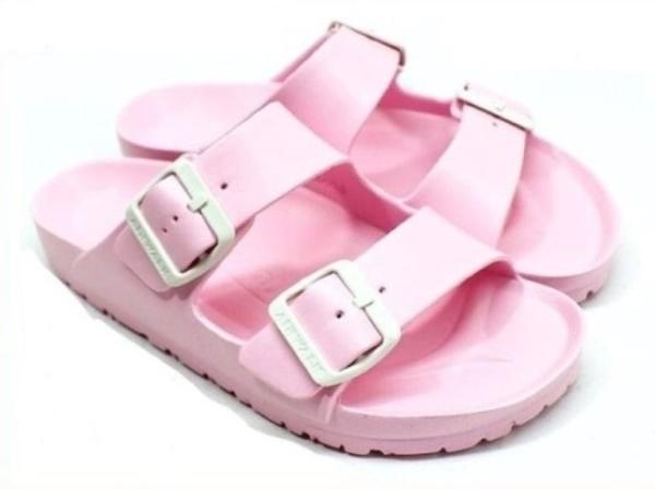 AIRWALK 女款戶外休閒涼拖鞋 粉-NO.A755220141