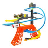 Amuzinc酷比樂 兒童玩具 電動軌道玩具 軌道飛船帶小鴨 雲霄飛船 661K-1