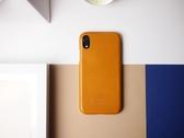 Alto iPhone Xs Max 真皮手機殼背蓋 6.5吋 Original - 焦糖棕【可加購客製雷雕】皮革保護套