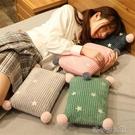 趴睡枕 辦公室午睡小枕頭便攜式睡枕午休枕抱枕小號學生靠枕趴著睡覺神器 洛小仙女鞋