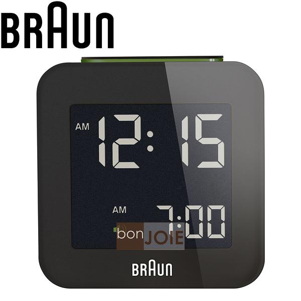 ::bonJOIE:: 美國進口 Braun BNC008 Alarm Clock 百靈數位鬧鐘 (黑色款)(全新盒裝) 博朗 時鐘 德國