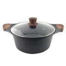 壓鑄不沾萬用鍋24cm 湯鍋 燉鍋 料理鍋 調理鍋 火鍋 不沾鍋