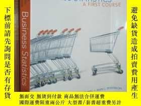二手書博民逛書店Business罕見Statistics: A First Course(Fifth Edition) 【附光盤】