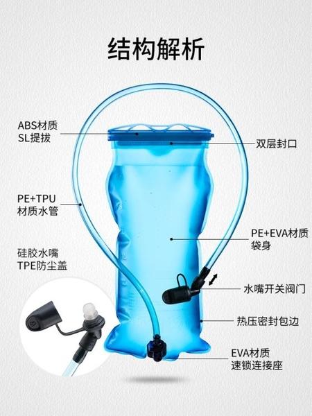 Naturehike挪客戶外飲水袋便攜摺疊大容量運動登山騎行喝水裝水袋 格蘭小鋪