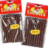 【 培菓平價寵物網 】沛貝兒CHEWUES《牛肉味│培根味》5吋脆皮棒 (10入/包)