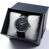 超薄男士手錶皮帶男學生韓版簡約時尚潮流男錶防水石英錶腕錶  Cocoa