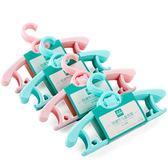 兒童衣架寶寶嬰兒衣架新生兒家用衣掛撐小孩晾衣架小衣架30個(免運)