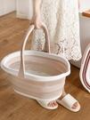 折疊桶 折疊桶大容量旅行便攜式洗澡儲水筒家用塑料加厚手提釣魚TW【快速出貨八折搶購】