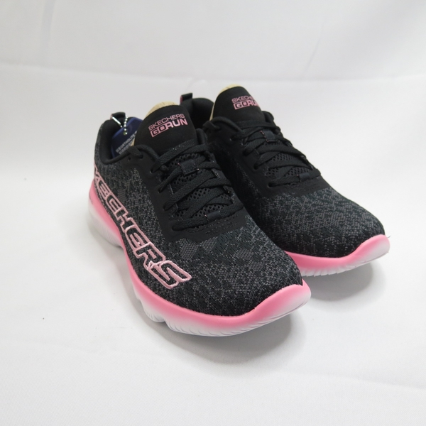 Skechers GO RUN FOCUS-BELIEF 女款 慢跑鞋 128021BKPK 黑粉【iSport愛運動】