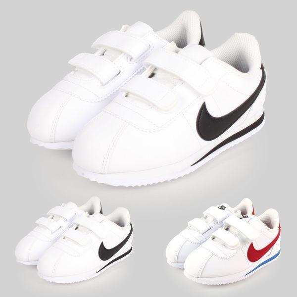 NIKE CORTEZ BASIC SL (TDV) 男女童復古休閒鞋 (免運 阿甘鞋≡體院≡ade