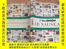 二手書博民逛書店The罕見Onion Ad Nauseam: Complete
