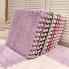 毛毛地毯臥室少女ins風房間床邊公主耐臟易打理整鋪拼接泡沫地墊 樂活生活館