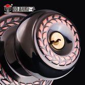 不銹鋼圓形鎖球形鎖房門鎖通用型臥室內老式門衛生間圓頭門鎖鎖舌   良品鋪子
