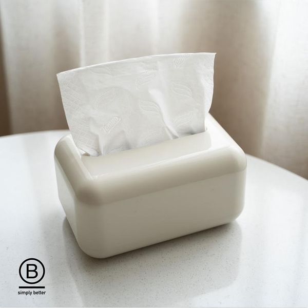 SimplyBetter原創 簡約北歐風客廳紙巾盒抽紙盒 白/卡其/灰/綠/粉