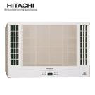 [ HITACHI 日立 ]  8-10坪 變頻冷專雙吹窗型冷氣  RA-60QV