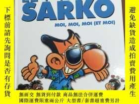 二手書博民逛書店LE罕見P TIT SARKO (2009年大16開彩色卡通連環