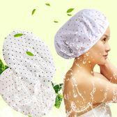 【TT】成人洗澡防水浴帽加厚頭套 廚房炒菜防油煙帽子女士沐浴帽