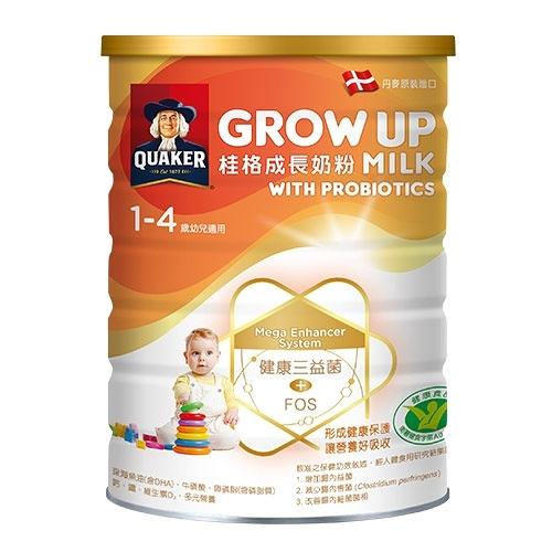 桂格grow up 成長奶粉三益菌配方1500g【愛買】