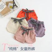 女童短褲2019新款洋氣潮童裝寶寶褲子外穿韓版夏裝兒童休閒熱褲薄 漾美眉韓衣