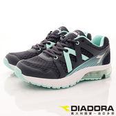 【DIADORA】潮流氣墊透氣運動款-5836-藍綠-女段(23cm~25cm)