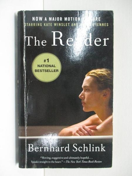 【書寶二手書T7/原文小說_CR2】The Reader_Bernhard Schlink