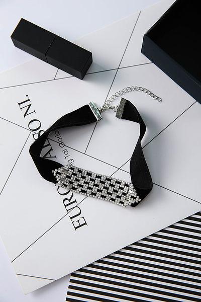 預購-水鑽造型頸鍊項鍊