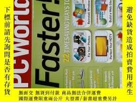 二手書博民逛書店PC罕見WORLD Magazine 2008年6月 英文個人電腦雜誌 可用樣板間道具雜誌Y114412