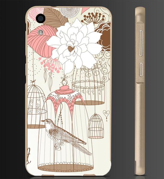 ✿ 俏魔女美人館✿ 【鳥籠*金屬邊框】htc 728手機殼 手機套 保護套 保護殼