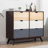 實木鬥櫃儲物櫃北歐家具收納櫃抽屜式整理櫃臥室床頭櫃子置物櫃櫥xw 全館滿千88折