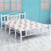 折疊床 簡易折疊床家用單人床雙人床1.2米1.5米木板床便攜辦公午睡床成人 CP5357【VIKI菈菈】