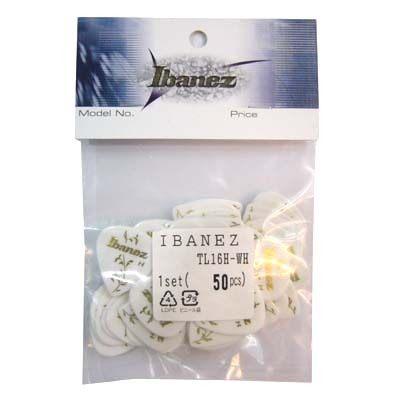 ★集樂城樂器★-IBANEZ電吉他彈片TL16H-WH 50片量販包~(白)