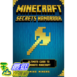 [美國直購] 當個創世神 Minecraft: Secrets Handbook - Ultimate Guide to Dominate Minecraft Paperback
