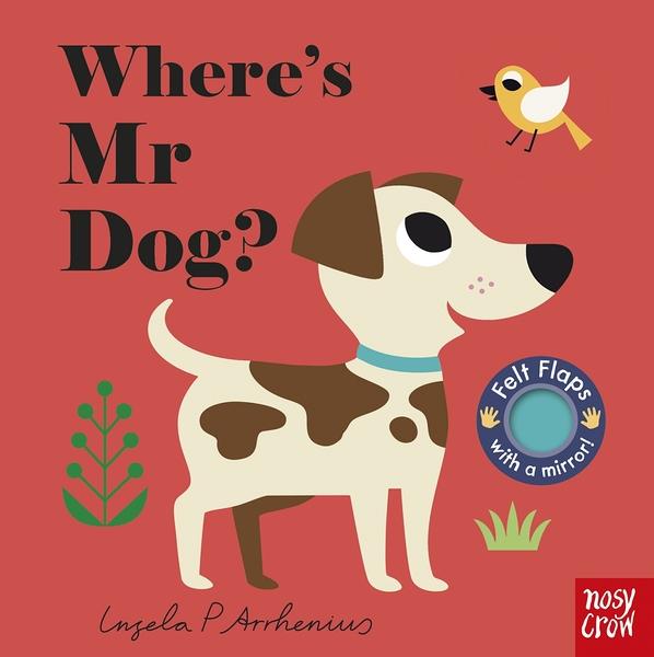 Where's Mr Dog? 小狗在哪裡? 不織布翻翻書