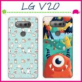 LG V20 H990d 時尚彩繪手機殼 卡通磨砂保護套 PC硬殼手機套 清新可愛塗鴉背蓋 超薄保護殼 貓咪