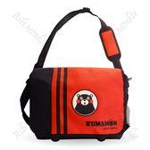 【KUMAMON 酷MA萌】NO.19熊本熊紅色側背包 學生 書包