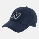 New Balance 老帽 可調式 經典LOGO基本 深藍 休閒帽 遮陽帽 LAH03001TNV
