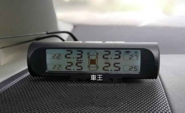 【車王汽車精品百貨】TPMS 胎外式 無線 胎壓偵測器 外置 免拆輪胎 太陽能 胎壓監測器