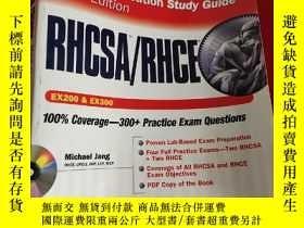 二手書博民逛書店RHCSA RHCE罕見Red Hat Linux Certification Study Guide (Exam