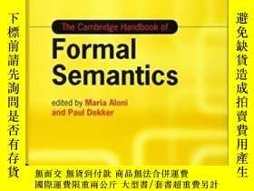 二手書博民逛書店The罕見Cambridge Handbook Of Formal SemanticsY256260 Mari