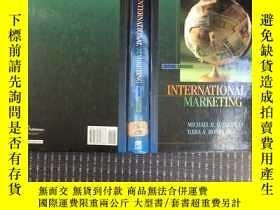 二手書博民逛書店international罕見marketing 英文原版16開