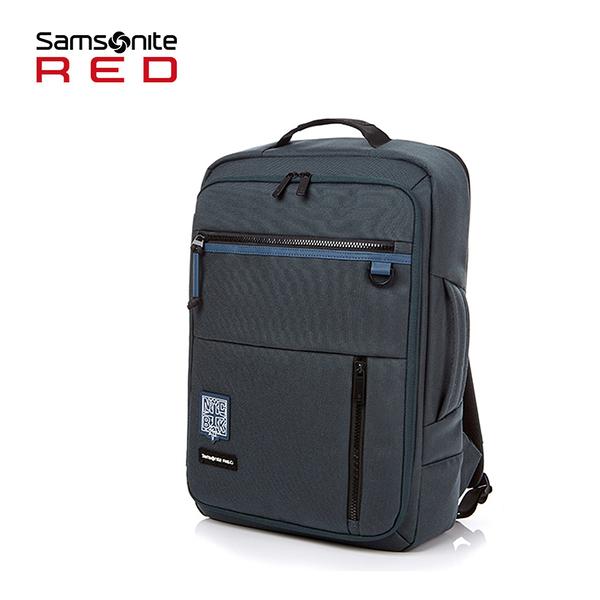 特價 聯名款 Samsonite RED 新秀麗【BYNER GS5】14吋筆電後背包 可插掛 大容量 水平開闔