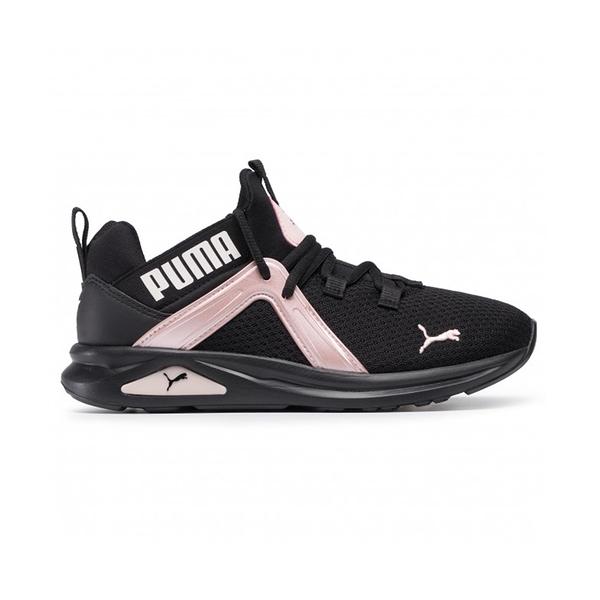 PUMA Enzo 2 Shimmer 女款 黑粉 運動 訓練 慢跑鞋 193714-02