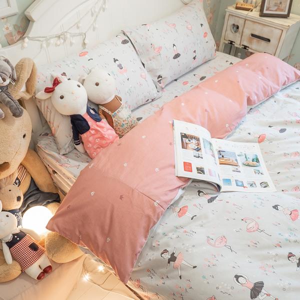 少女漫畫 A1雙人薄被套乙件 100%精梳棉 台灣 棉床本舖