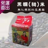 壽豐農會 1+1 黑糯-糙米 (600g-包)3包一組 共6包【免運直出】