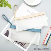 筆袋韓版簡約女生大容量文具收納鉛