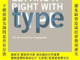 二手書博民逛書店Getting罕見It Right With TypeY364682 Victoria Squire Laur