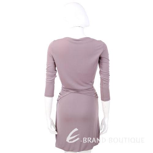 PHILOSOPHY 粉紫色V領七分袖洋裝 1210339-47