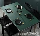 熱賣桌布北歐皮革桌墊餐桌布防水防油免洗無味防燙pvc茶幾墊長方形臺布  coco