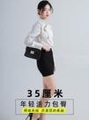 2020新款包臀裙半身裙高腰彈力一步裙短裙女職業包裙黑色工作裙子 黛尼時尚精品