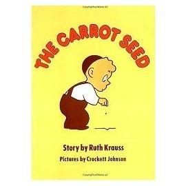 『童書久久書單』『繪本123‧吳敏蘭老師書單』-- The Carrot Seed /英文繪本附CD (中譯:胡蘿蔔種子)